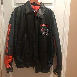 Chicago Bears vintage Leather Jacket